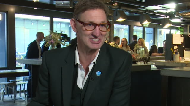 interview tony adams, former england footballer, talks about mental health and the heads up campaign which will involve every uk football team and be... - mental health stock videos & royalty-free footage