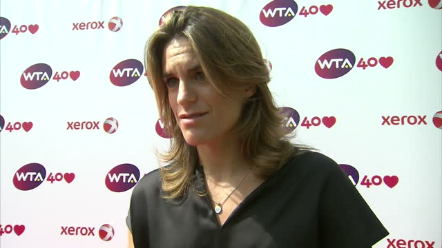 Interview with Amelie Mauresmo on the background to the WTA 'It is very impressive and I'm just proud and happy that I was a part of that'