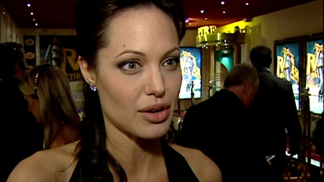 Interview with Angelina Jolie on Tomb Raider Lara Croft and UN Ambassador role
