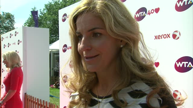 Interview with Arantxa Sanchez Vicario about the creation of the Women's Tennis Association 'It's nice to be here'