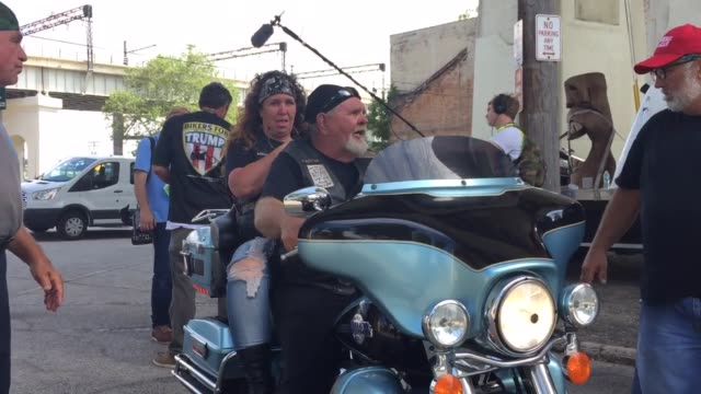 66 Bikers For Trump Video Clips & Footage - Getty Images