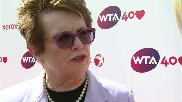 interview with billie jean king founding member of the wta i wasn't going to let the players out until we either had an association or we didn't - billie jean king stock videos & royalty-free footage