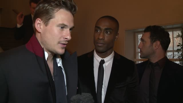 interview with blue the fragrance awards on april 14 2011 in london england - only mid adult men stock videos & royalty-free footage