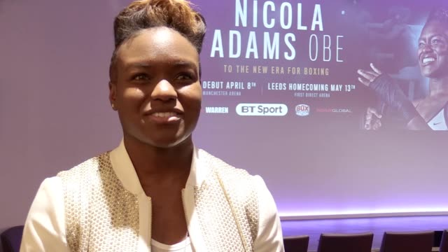 Interview with boxer Nicola Adams as it is announced she has signed a longterm promotional deal to turn professional The flyweight will make her...
