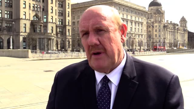 interview with brian barwick, the new chairman of liverpool's bid to host the commonwealth games. - impero video stock e b–roll