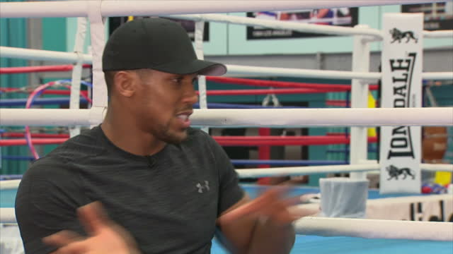 Interview with British professional boxer Anthony Joshua talks about whether he doubts himself and if he will ever lose at English Institute of Sport...