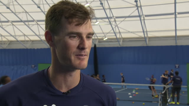 Interview with British tennis player Jamie Murray on his brother Andy Murray and his build up to 2019 Wimbledon Championships on June 26 2019 London...