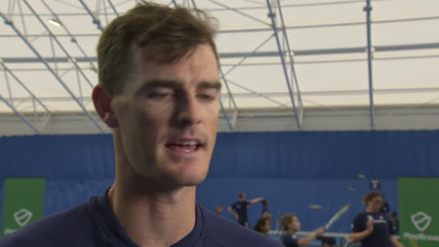 Interview with British tennis player Jamie Murray on preparations for the 2019 Wimbledon Championships on June 26 2019 London England
