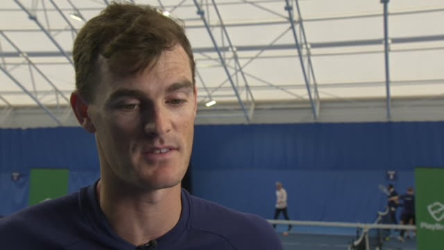 Interview with British tennis player Jamie Murray splitting with his doubles partner Bruno Soares and on his new partner fellow Briton Neal Skupski...