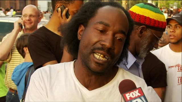 interview with charles ramsey - cleveland ohio stock videos & royalty-free footage