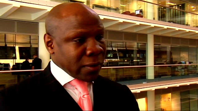 interview with chris eubank; chris eubank interview sot - on his 1991 match against michael watson / on whether david hayes likely to become world... - chris eubank sr. stock videos & royalty-free footage