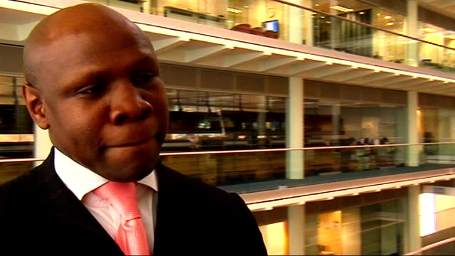 interview with chris eubank; chris eubank interview sot - on his own career and on losing a match, on showing grit - chris eubank sr. stock videos & royalty-free footage
