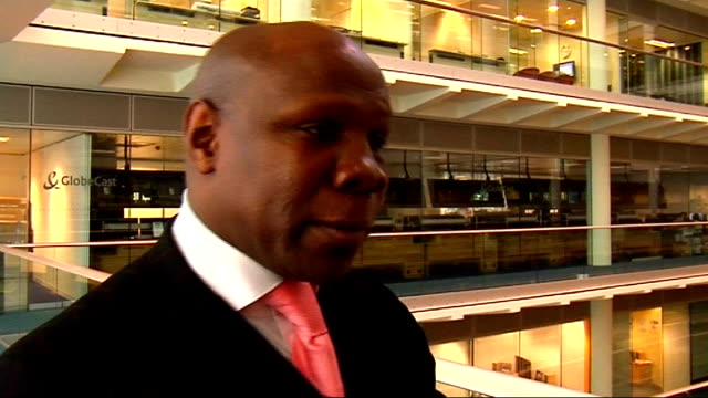 interview with chris eubank; chris eubank interview sot - on the qualities needed to become boxing world champion - chris eubank sr. stock videos & royalty-free footage