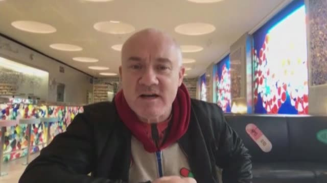 interview with damien hirst as new exhibition opens; england: london: int damien hirst interview via web with reporter sot various of pills on shelf... - anatomy stock videos & royalty-free footage