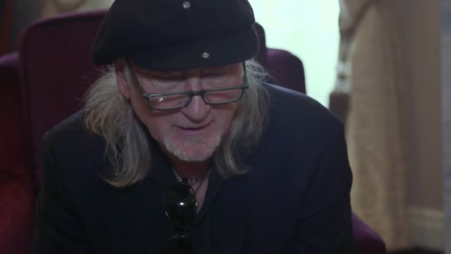 interview with deep purple bassist and songwriter roger glover ahead of their upcoming tour - popular music tour stock videos and b-roll footage