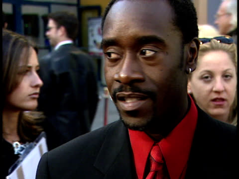 Interview with Don Cheadle at the Out of Sight Premiere