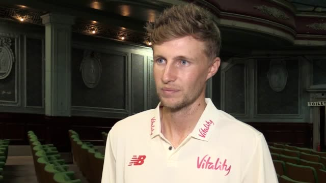 interview with england cricket captain joe root following the completion of his first test series as england captain he talks about what he learnt... - international match stock videos & royalty-free footage