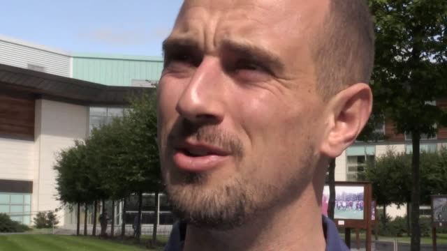 Interview with England Women's head coach Mark Sampson as the team hold a media day ahead of next week's 2019 World Cup qualifier against Russia