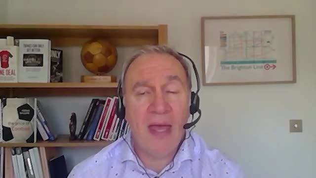 interview with football finance expert kieran maguire from liverpool university on the court of arbitration for sport's ruling regarding manchester... - forbidden stock videos & royalty-free footage