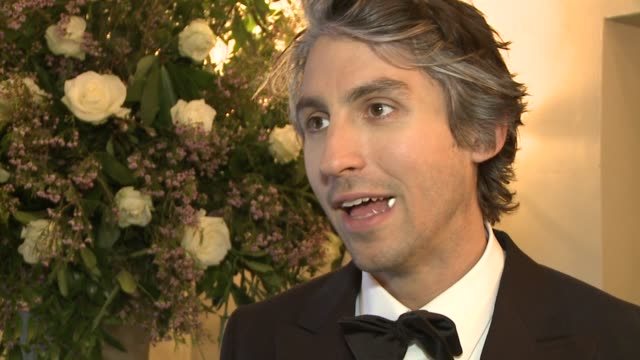 interview with george lamb the fragrance awards on april 14 2011 in london england - einzelner mann über 30 stock-videos und b-roll-filmmaterial