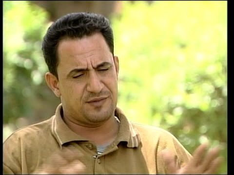 Interview with Iraqi man who says he was in torture photos ITN Baghdad Iraqi man talking to Connery CMS Unnamed Iraqi man interview SOT Talks of his...