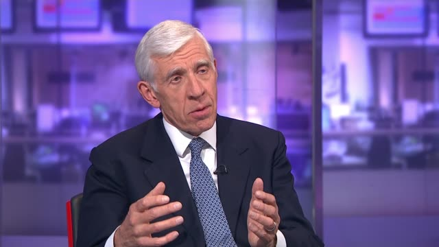 interview with jack straw on his account of britain's relationship with iran england london gir int jack straw studio interview sot - jack straw stock videos & royalty-free footage