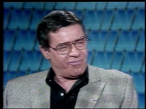 Interview with Jerry Lewis Jerry Lewis Discusses His Heart Surgery and Health on March 27 1984 in New York New York
