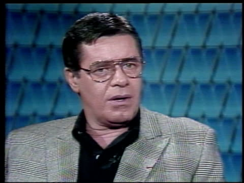 Interview with Jerry Lewis the actor describes the moment he found out he was receiving the Légion d'honneur Jerry Lewis Receives the French Legion...