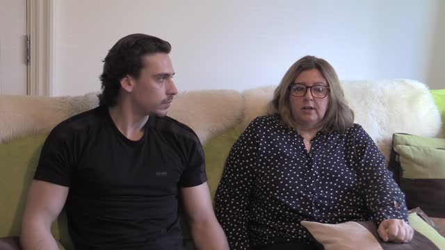 interview with jo sullivan, the mother of a west end make-up artist killed by a teacher in a high speed hit-and-run in qatar, who has labelled the... - doha stock videos & royalty-free footage