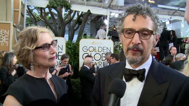 interview with john turturro on the red carpet during the 74th annual golden globe awards - 74th annual academy awards stock videos & royalty-free footage