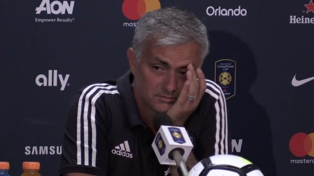 Interview with Jose Mourinho as Manchester United's preseason tour of the United States ended with defeat as Barcelona won 10 at FedEx Field