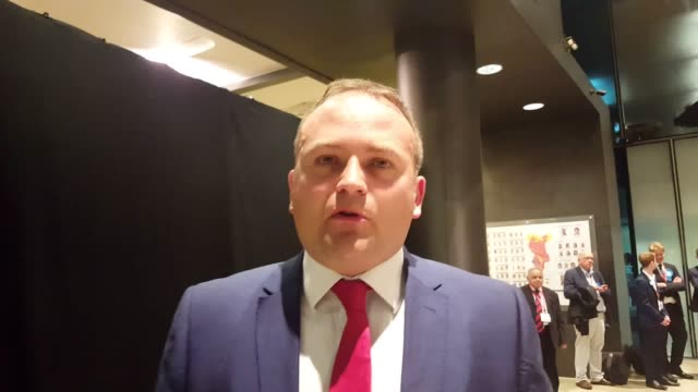 Interview with Labour's Neil Coyle who says he is quite positive about retaining his seat as MP for Bermondsey and Old Southwark against Lib Dem...