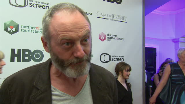 interview with liam cunningham actor on tv series game of thrones and why its such a success interview with liam cunningham on june 07 2013 in... - actor stock videos & royalty-free footage