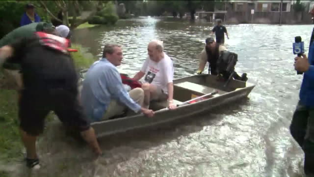 KTLA Interview with Man Rescued After Hurricane Harvey