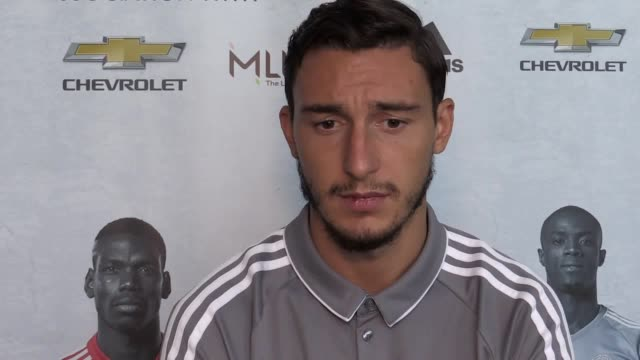 Interview with Manchester United fullback Matteo DarmianTalks about Romelu Lukaku title hopes and his future as he is constantly linked with a move...