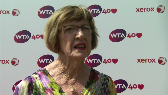 Interview with Margaret Court on the background to the Women's Tennis Association 'when I started out it was amateur tennis when I finished playing...