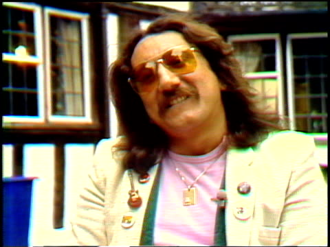 interview with mick box of the band uriah heep. interview with mick box on january 01, 1981 - arts culture and entertainment stock videos & royalty-free footage