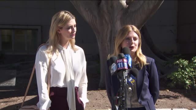 KTLA Interview with Mischa Barton's Lawyer Outside of Court After Filing 'Revenge Porn' Case