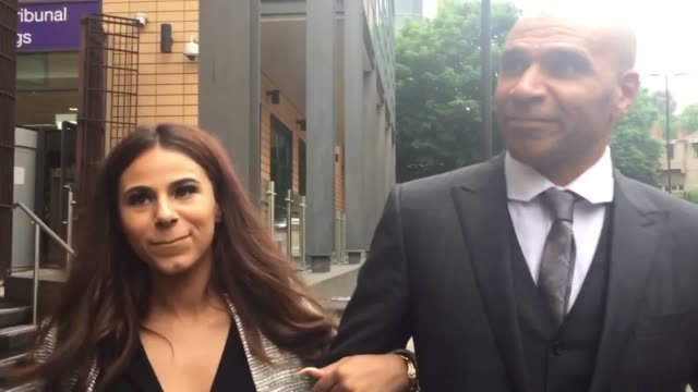 interview with musician goldie after he was fined £2463 for assaulting a security guard who refused to let his daughter and a friend into a... - goldie stock videos & royalty-free footage