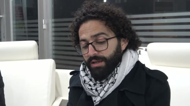 Interview with Palestinian film director and screenwriter Nawras Abu Saleh on December 12 2017 in Mardin southeastern Turkey Nawras Abu Saleh is...