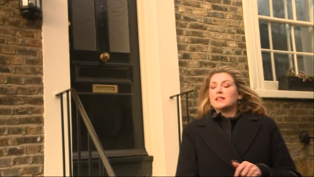 interview with penny mordaunt mp secretary of state for international development of the united kingdom on the current state of the british prime... - prime minister of the united kingdom stock videos and b-roll footage