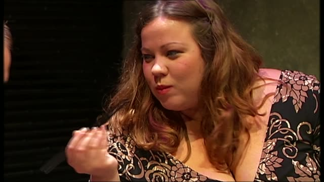interview with playwright neil labute t22050852 / tx london trafalgar studios int **for reuse you must onscreen credit 'fat pig' by neil labute... - scriptwriter stock videos & royalty-free footage