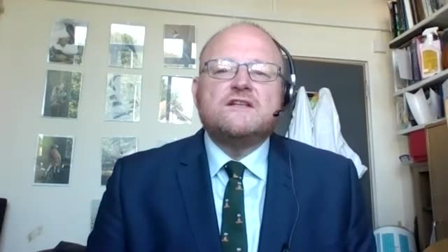 interview with prof mark fielder, professor of medical microbiology at kingston university on the day new students arrive on campus to begin... - fielder stock videos & royalty-free footage