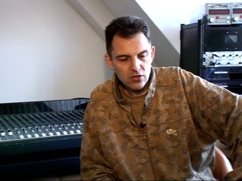 interview with rap dj tim westwood england london int tim westwood interview sot talks about his television show 'pimp my ride' and his new series... - question mark stock videos & royalty-free footage