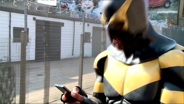 Interview with 'reallife superhero' Phoenix Jones Phoenix Jones interview SOT On becoming a real life superhero / on being stabbed and shot at /...