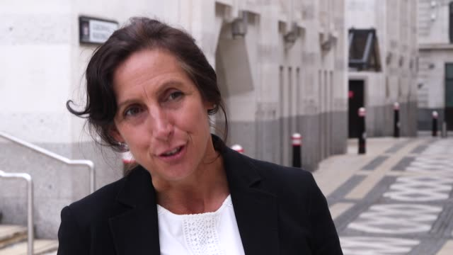 vídeos de stock e filmes b-roll de interview with rebecca waller, senior crown prosecutor with the crown prosecution service, following the conviction of henry long, jessie cole and... - emaranhado