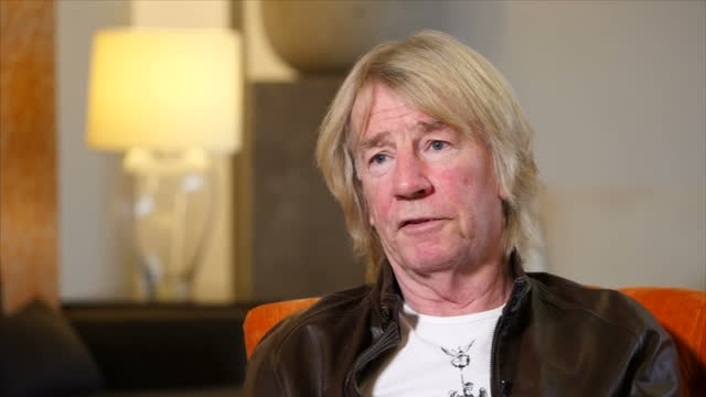 Interview with Rick Parfitt co founder of Status Quo his favourite thing about regretting having an unhealthy lifestyle and that he is sorry to...