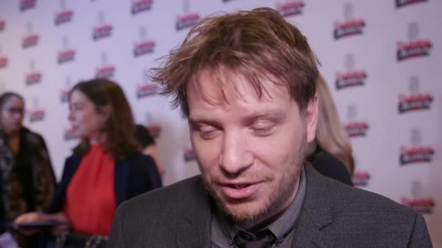 Interview with Rogue One director Gareth Edwards Witch actress Anya TaylorJoy actor Dave Johns and Games of Thrones actor Daniel Portman at the Three...