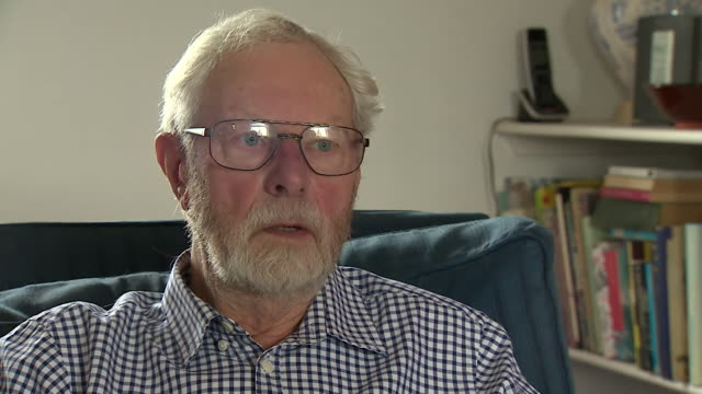 interview with roy warne eyewitness to prince philip's car crash says i saw a car somersaulting across the road from my right - privatfahrzeug stock-videos und b-roll-filmmaterial