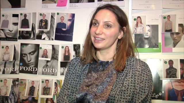 interview with sarah richardson id's contributing fashion editor and stylist sarah richardson takes us backstage at preen with justin thornton and... - white background stock videos & royalty-free footage